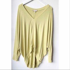 Anthropologie Eri & Ali Oversized sweater blouse